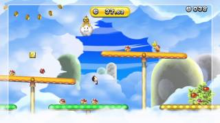 Rickety Sprint Gold Medal - New Super Mario Bros. U (56.98)