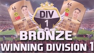 WINNING DIVISION 1 WITH A BRONZE TEAM LIVE | EPISODE 1 FIFA 17 ULTIMATE TEAM
