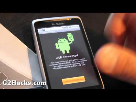 How to Unroot G2 Phone back to Factory ROM!