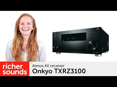 Onkyo TXRZ3100 - Atmos AV receiver   Richer Sounds