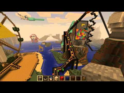 Minecraft Video Game Themepark