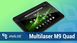 Tablet Multilaser M9 Quad [Análise] - TecMundo