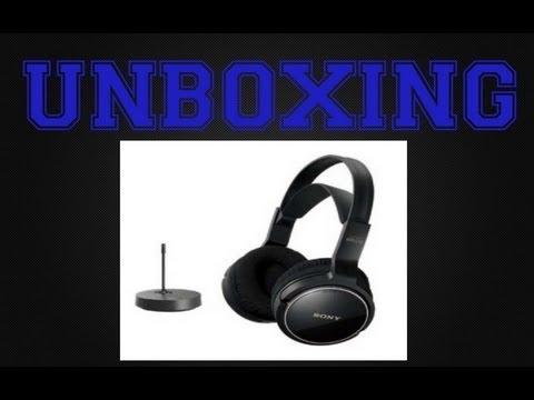 Słuchawki Sony Mdr-rf810rk Unboxing Sony Mdr-rf810rk