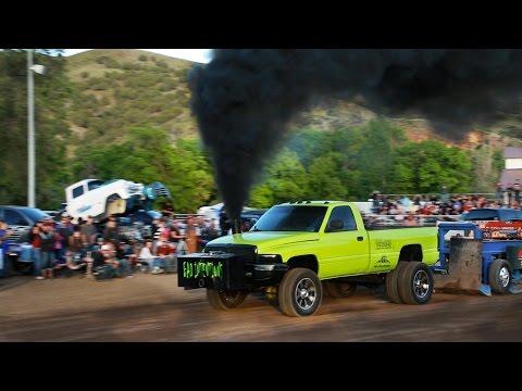 Truck Pull - Morgan Utah 2014 - United Pullers