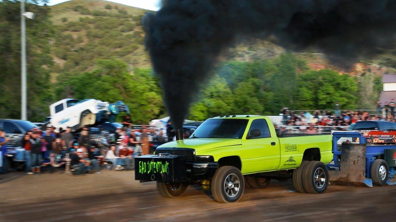 Truck Pull 4 Morgan Utah 2014 United Pullers Youtube