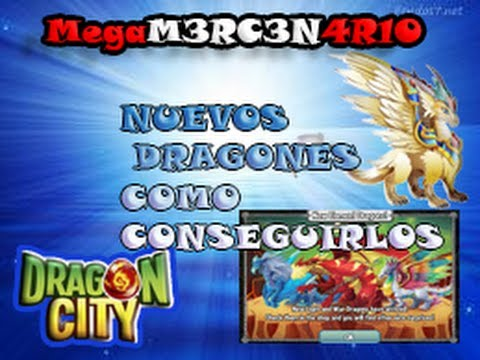NUEVOS DRAGONES Y ELEMENTOS (luz y belico) DRAGON CITY HD