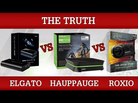 Elgato Game Capture HD vs HD PVR 2 vs Roxio Game Capture HD Pro [The Truth]