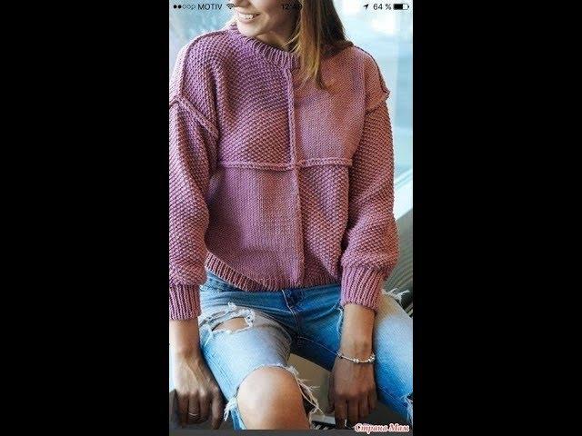 Вязаные Пуловеры для Девушек Спицами - 2019 / Knitted Pullovers for Knitting Girls