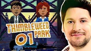 Thimbleweed Park mit Simon #001 | Knallhart Durchgenommen | Let's Play Thimbleweed Park