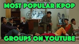 [TOP 75] MOST POPULAR KPOP GROUPS ON YOUTUBE
