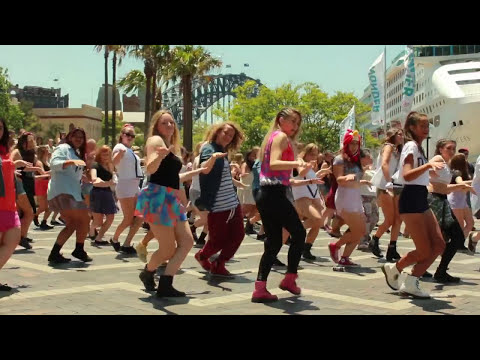 One Direction Sydney Flash Mob Take 2! [Official Video]