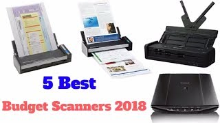 5 Best Budget Scanners 2018
