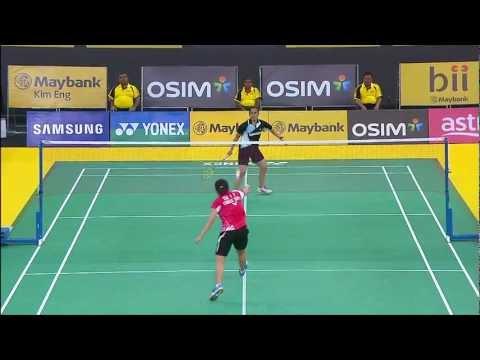 SF WS TAI Tzu Ying vs Saina Nehwal - 2013 Malaysia Open Kingson 戴资颖vs内瓦尔