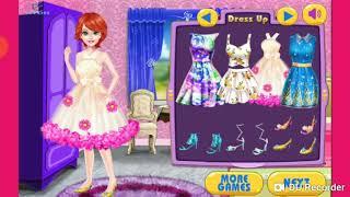 Game hay vui nhộn cho bé - Thời trang đầm bông hoa - Dress up games for girls/kids