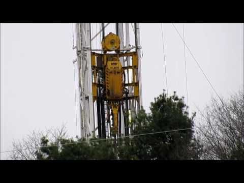 Drill Rig  - Abbott Gas Pad -  Cabot -  5-21-16