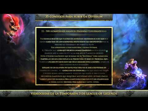 35 Consejos para subir de Division - League of Legends