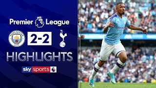 HIGHLIGHTS | Man City 2-2 Tottenham | Premier League | 17th August 2019