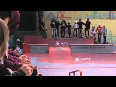 20150906 Сергей Петров, kick scooter, МТС #WOWMOSCOW контест ВДНХ