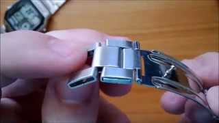 How To Resize Your Watch Band And Remove Links / Reglare bratara ceas.