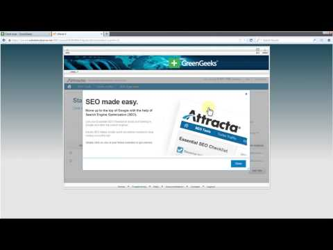 How to Enable Attracta SEO Tools on GreenGeeks