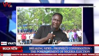 NIGERIA ELECTION PROPHECY