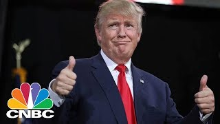 President Donald Trump Mistakenly Thinks Steelworker's Father Is Dead | CNBC