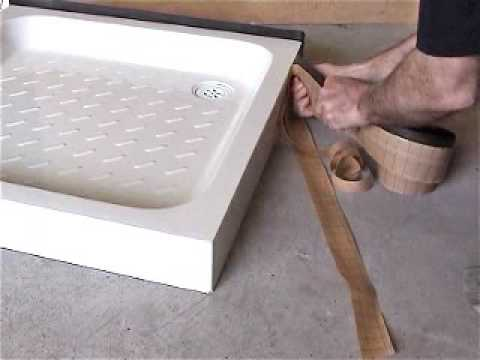 Fitting a Shower Tray. Aquastrap Installation