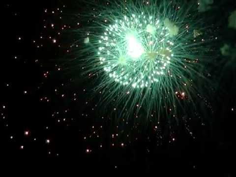 Феєрверк на День Незалежності в Крижополі