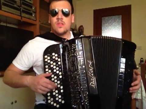 Marko Milutinović - PSY - GENTLEMAN - Balkan Accordion Version (OFFICIAL CLIP)  █▬█ █ ▀█▀