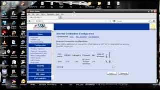 configuring BSNL broadband Teracom Syrma Modems -bridge mode
