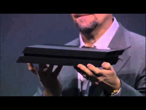 PS4 Hardware Console Revealed (E3 2013)