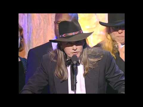 Members of the Allman Brothers Band Accept Hall of Fame Awards