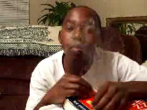 Kid smokes candy!!