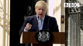 Boris Johnson's first speech as Prime Minister | FULL SPEECH - BBC