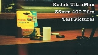 Test Photos w/ Kodak Film in Ultramax 400 ASA Speed For 35mm Film Cameras / Color Print Photography