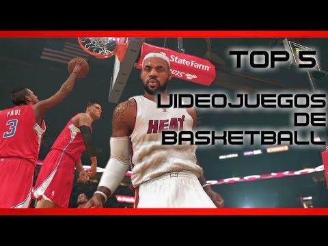 Top 5 - Mejores videojuegos de basketball