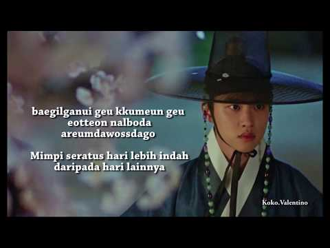 CHEN Cherry Blossom Love Song And Lyrics Indonesia Translation (OST 100 Day My Prince)