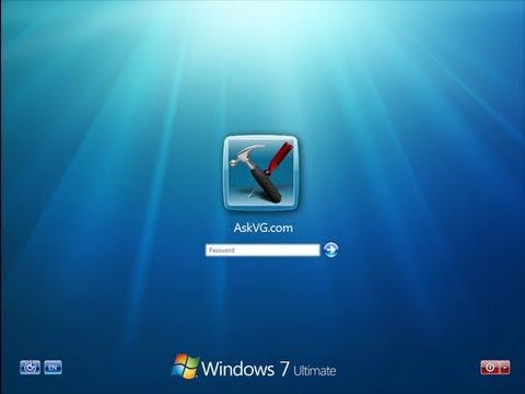 como cambiar la apariencia del inicio de sesión del windows 7