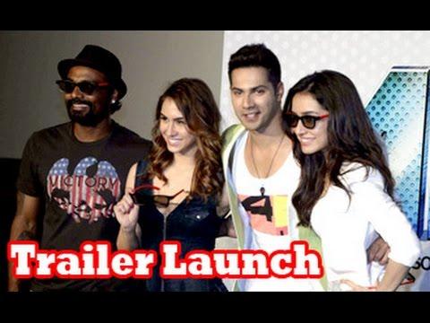 Varun Dhawan, Shraddha Kapoor, Prabhudeva, Remo D'souza at 'ABCD 2' Trailer Launch