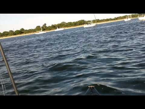 Kayak Fishing Sandy Hook NJ - Elks Fluke Tournament