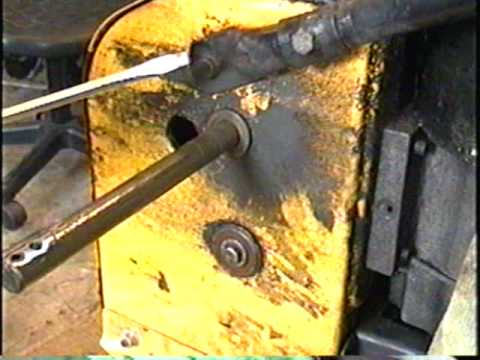 HOW TO REPLACE Snowblower Drive axle Bushings