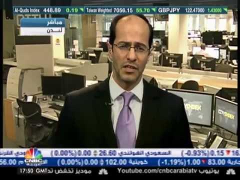 أشرف ألعايدي على قناة سي إن بي سي العربية --  06  يونيو 2012 Chart