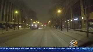 Nor'easter Conditions Worsen On Long Island