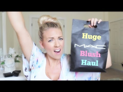 ❤ Huge M.A.C Blush Haul ❤