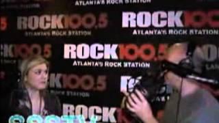 Kelly Clarkson - Rock 100.5 The Regular Guys Interview - 30-01-08