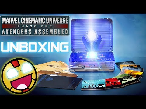 UNBOXING | Marvel Cinematic Universe Phase ONE