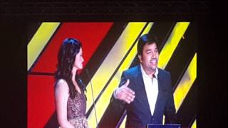 Dhanush singing vip Amma song in Dubai