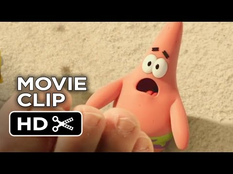 The Spongebob Movie: Sponge Out Of Water Movie Clip - Beached Porpoise (2015) - Animated Movie Hd video