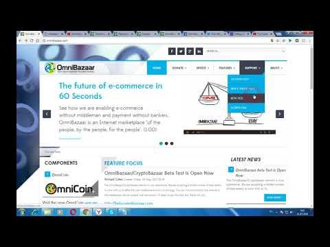 OMNIBAZAAR - частный кооперативный интернет-рынок, состоящий только из своих пользователей