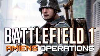 Battlefield 1: Operations on Amiens - 27 Kills, 2 Deaths (PS4 Multiplayer Gameplay)